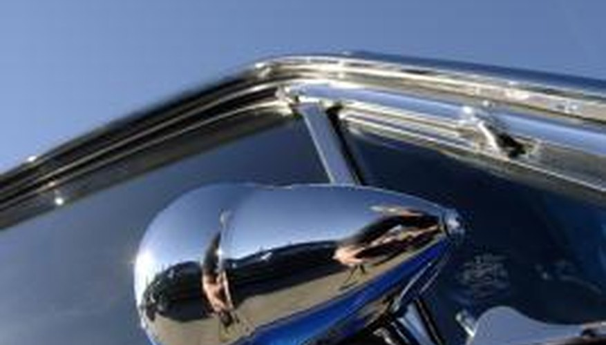Restoring chrome on your car gives the vehicle a shiny new look.
