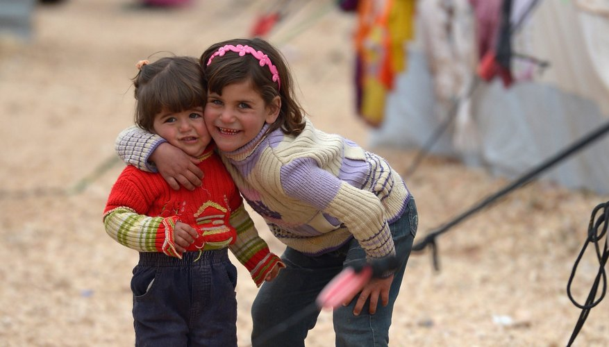 Your donation could help refugees fleeing conflict in countries such as Syria.