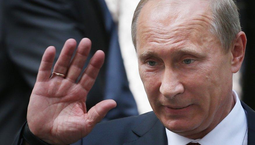 Russian President Vladimir Putin oversaw the Second Chechen War which began in 1999.