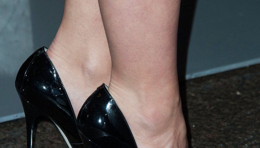 Actress Olivia Wilde sports high heels at a movie premiere in Los Angeles in December 2013.