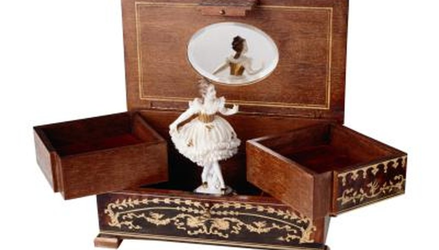 Music boxes were developed in the late 18th century.