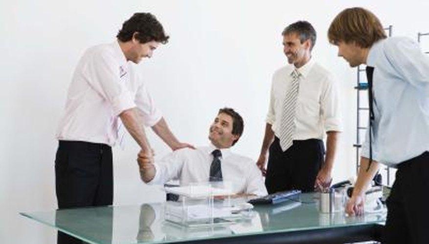 An effective leader motivates team members.