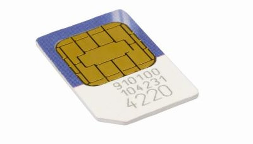 Your phone's SIM card will help you retrieve important messages.