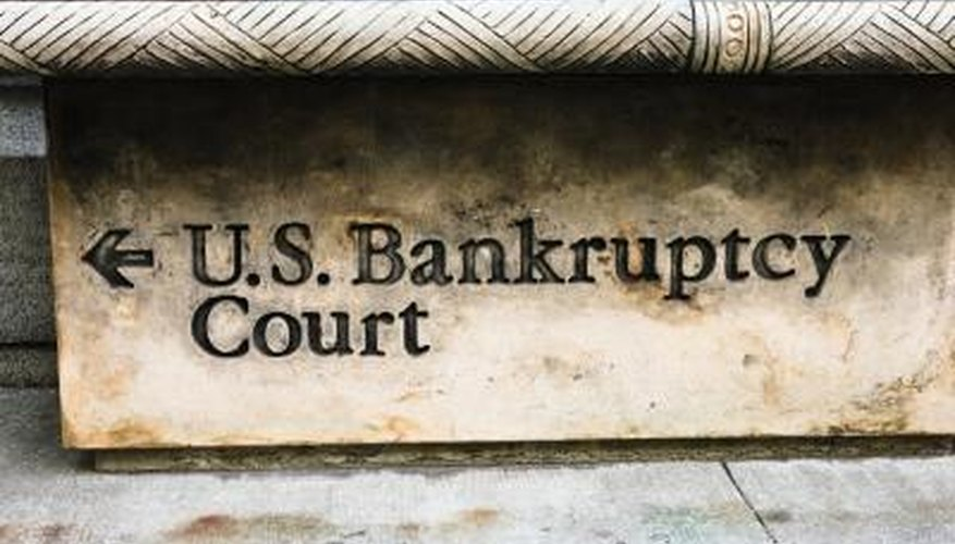 Whether it's bankruptcy or criminal court, you must have a good reason not to attend.