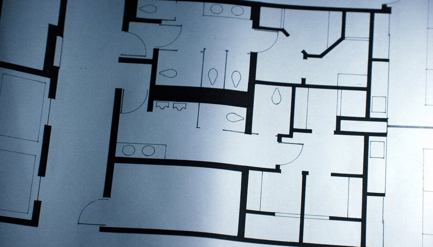 House plans are created by draughtsmen.