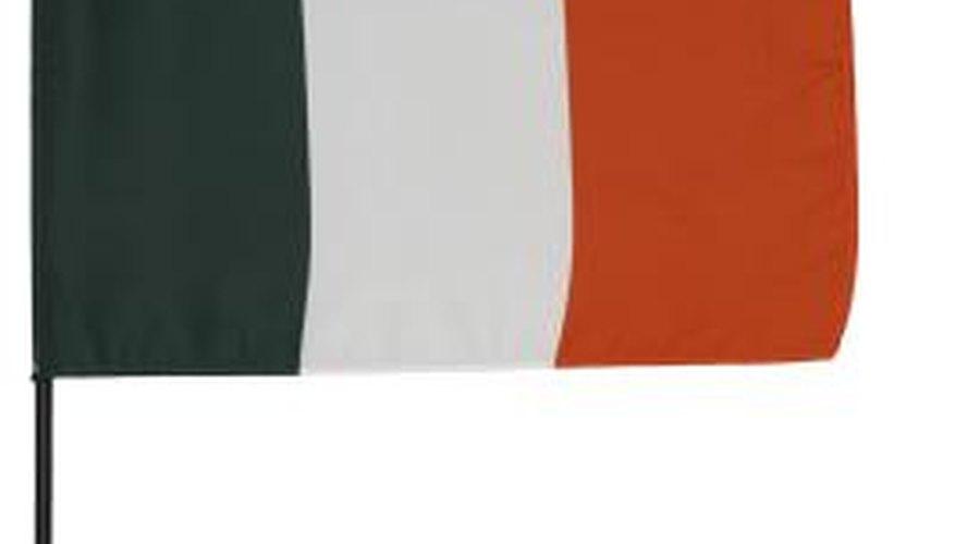 Hurling is a popular sport in Ireland.