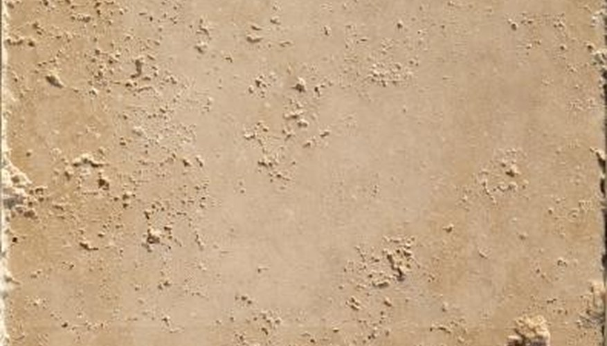 Limestone can have a luxurious or rustic appearance.