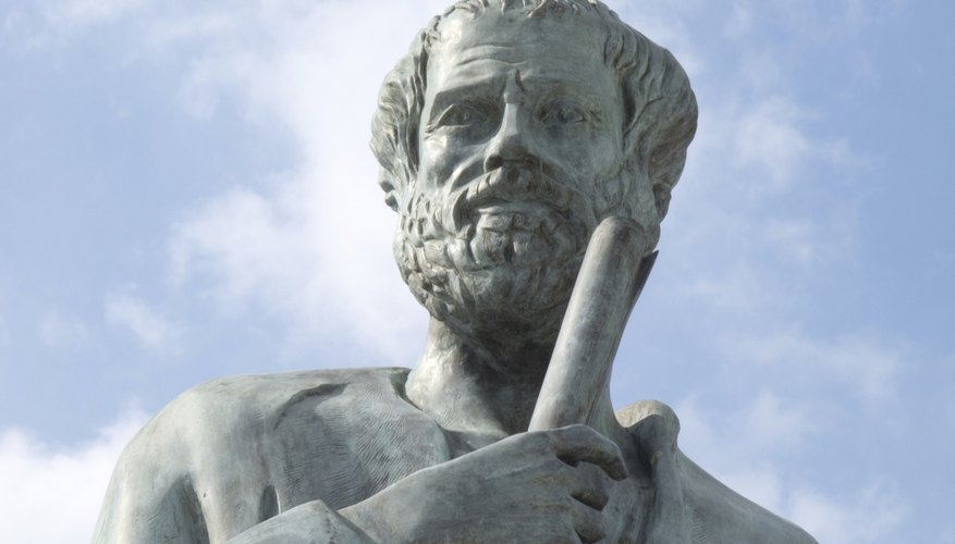 Aristotle tackled philosophy, drama, history and many other subjects.