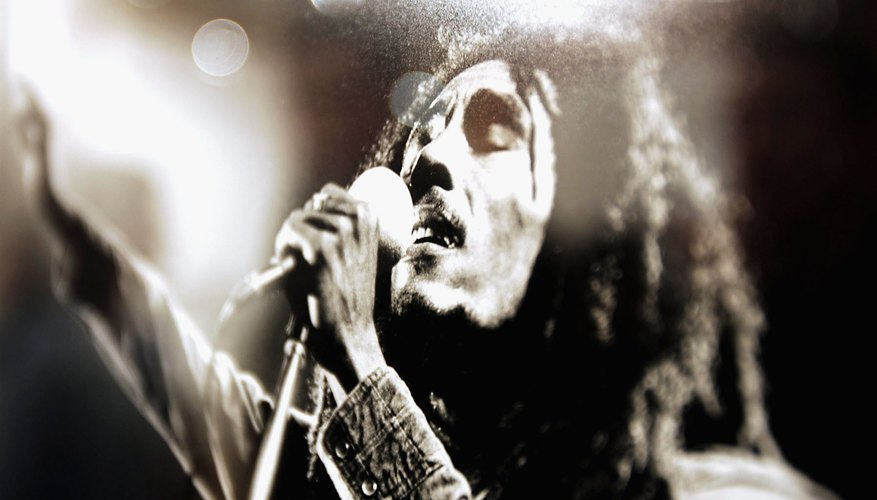 Reggae musician Bob Marley was a famous Rastafarian.
