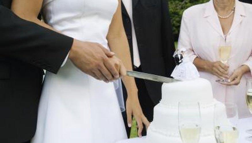 Fondant is often found on wedding cakes.