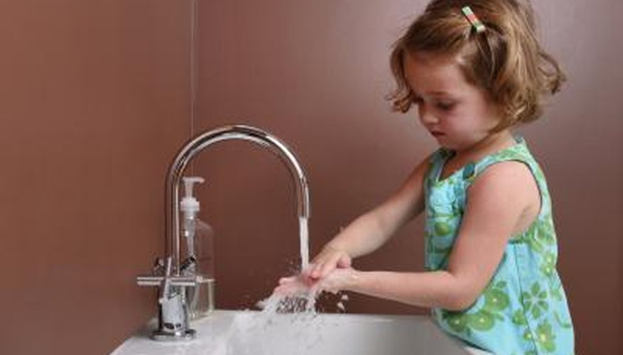 Wash your hands to avoid spreading germs.