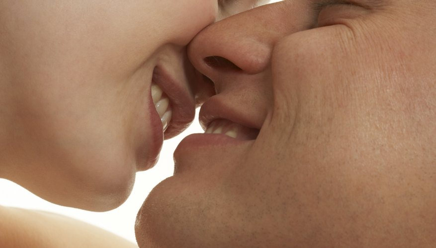 In ancient Greece a kiss could express romantic love.