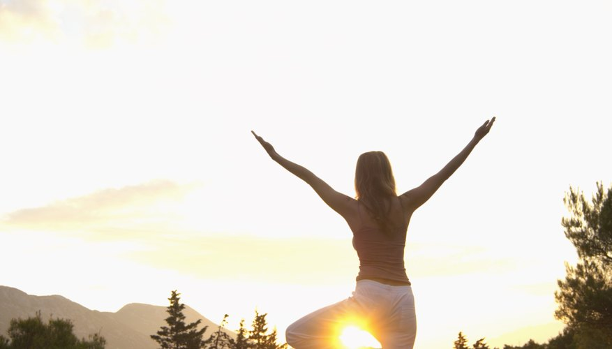 Surya Namaskara is a salute to the sun.