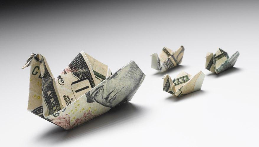 Depreciación de activos.
