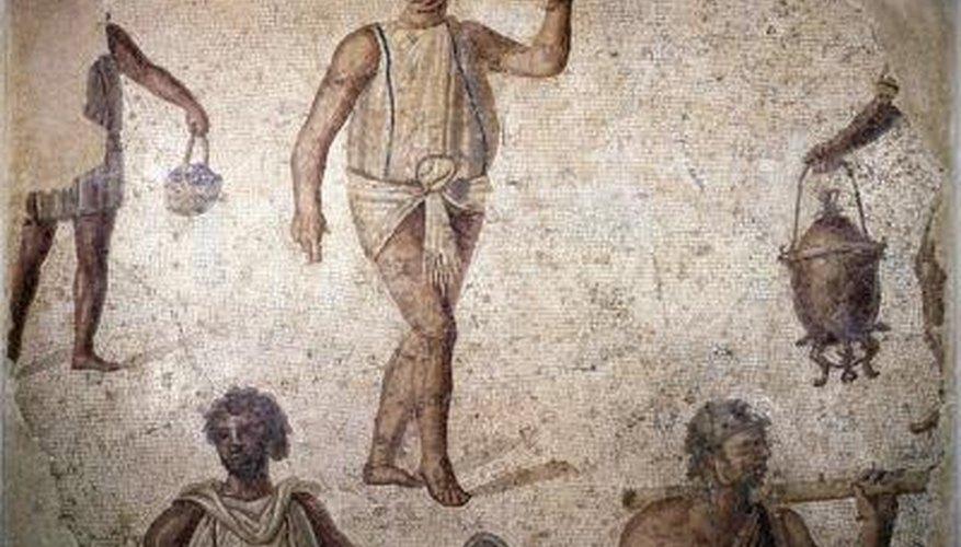 Slavery was a major part of the Roman Empire.
