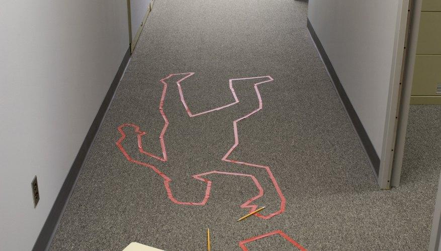 Crime scene investigators must be observant and diligent.