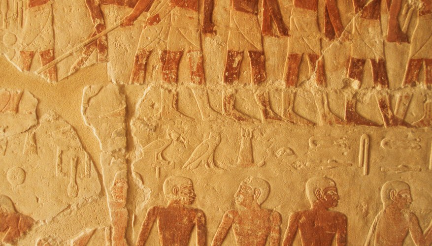 The ancient Egyptians celebrated with feasting and dance.