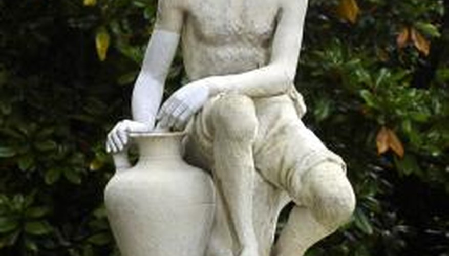 Stone statues have adorned landscapes for centuries.