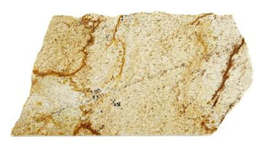 Natural veins in granite can cause cracks.