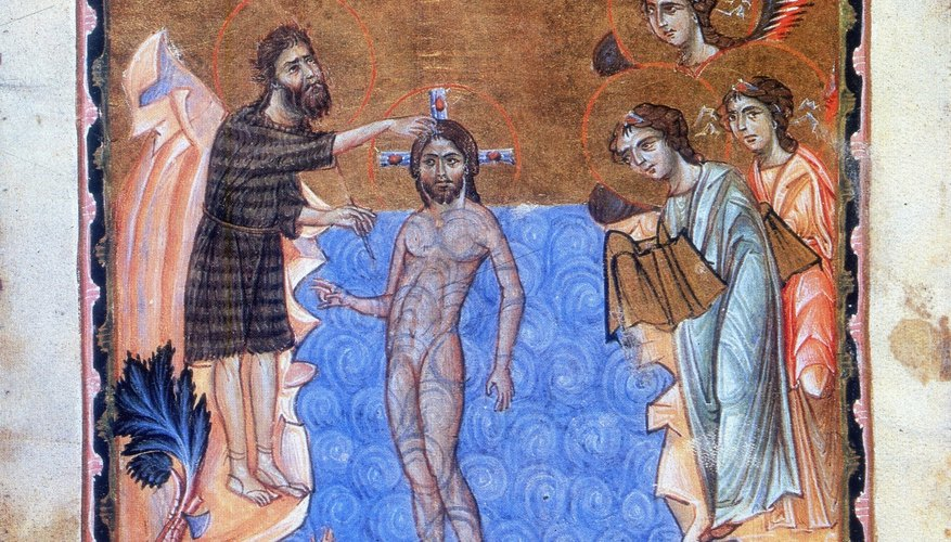 Baptism of Jesus Christ.