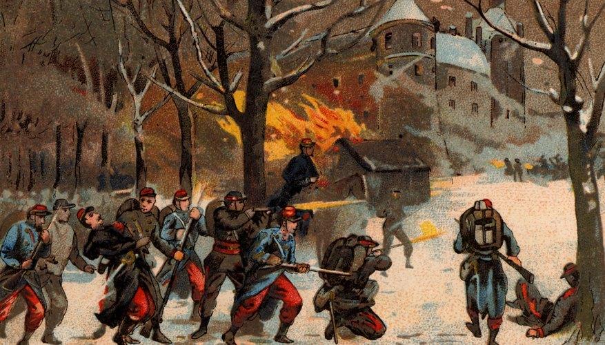 Battle during Franco-Prussian war