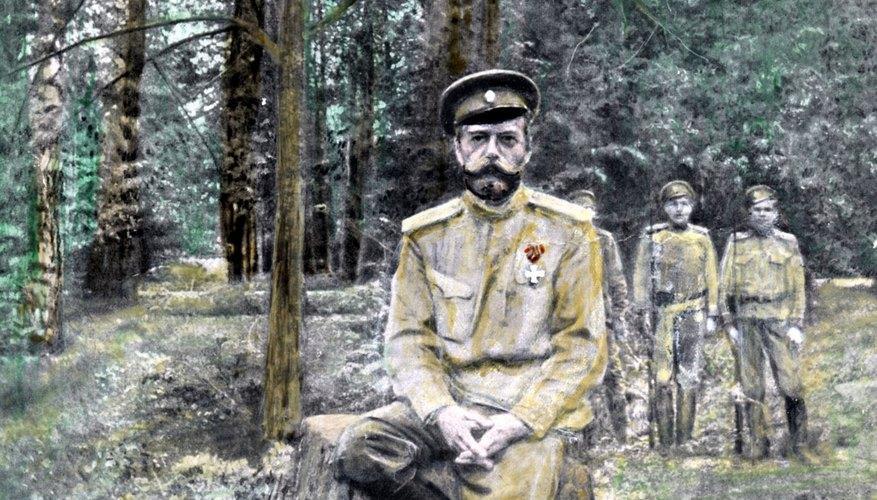 Czar Nicholas II was executed in July 1918.