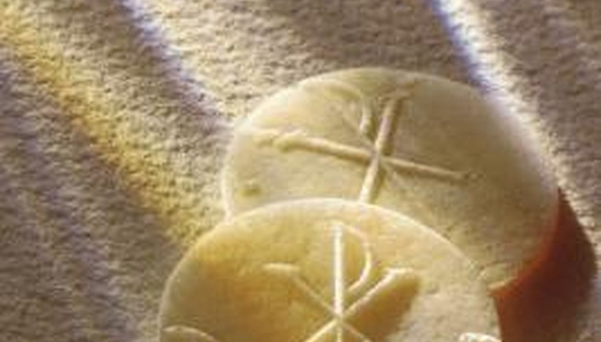 First Holy Communion is the celebration of the first time a Catholic receives the Eucharist.