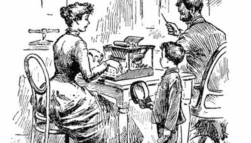 Victorian boarding schools were places of strict formality and discipline.