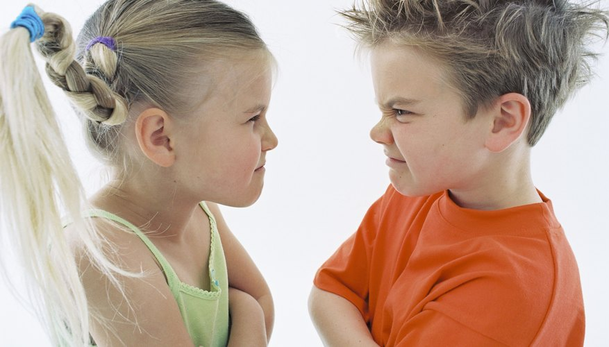 Settling conflicts is a skill 4-year-olds need to learn.