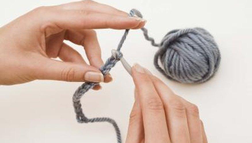 The basic crochet stitch is the chain stitch.