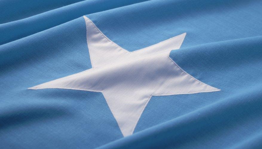 National flag of Somalia.