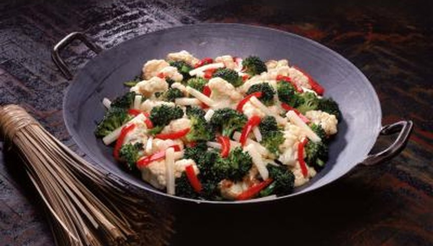 When prepared correctly, wok meals are a delicious alternative to pan-fried meals.