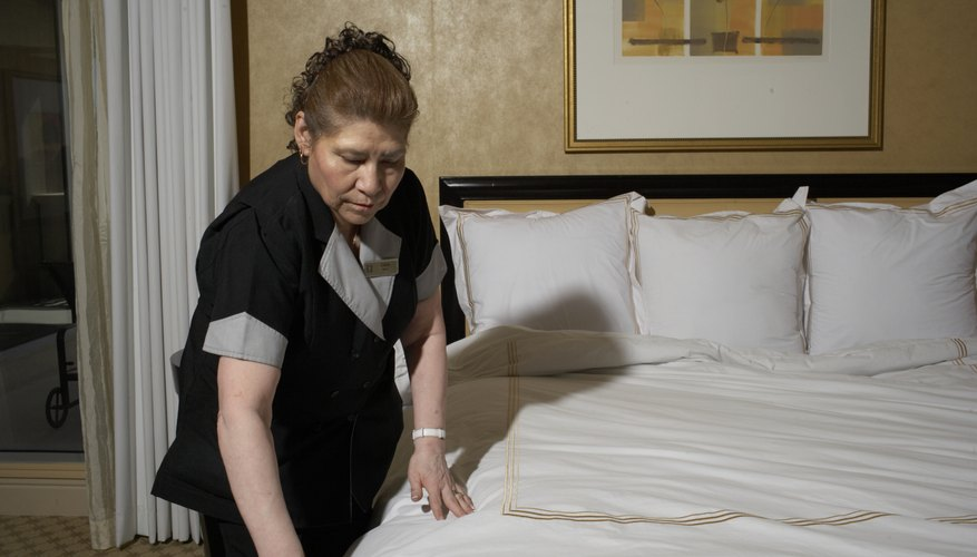 Housekeeper's week is observed in September.