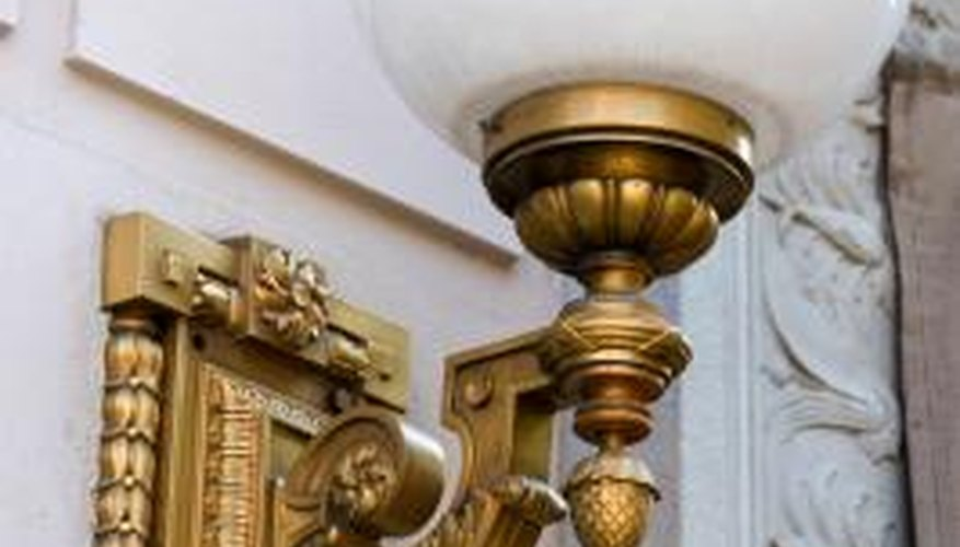 Nearly any wall sconce can become a plug-in fixture.