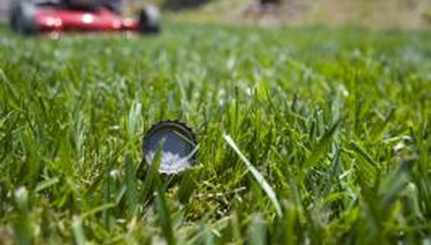Don't throw your bottle caps on the lawn--recycle them.