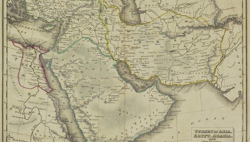 Region of the Islamic Empire.