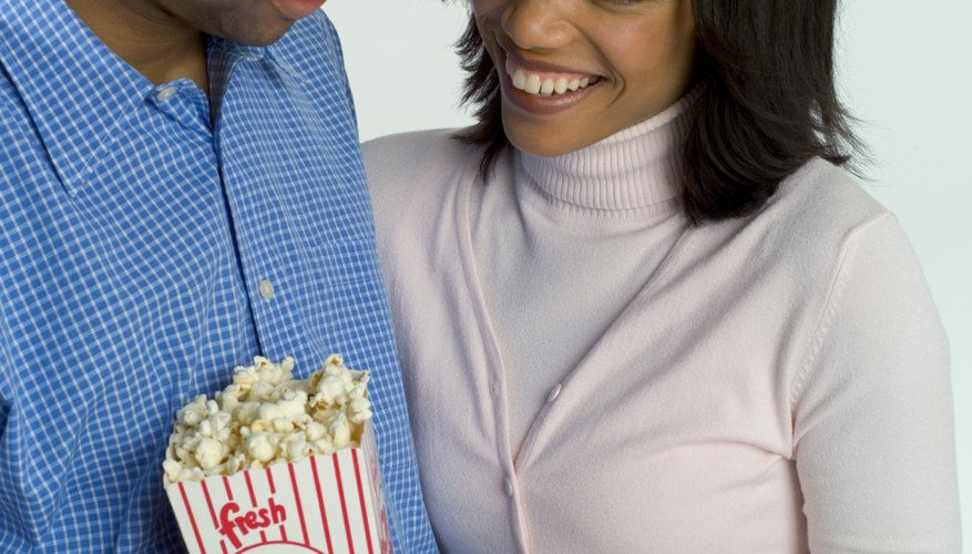 Movie tickets can be a gift for her and a date for the both of you.