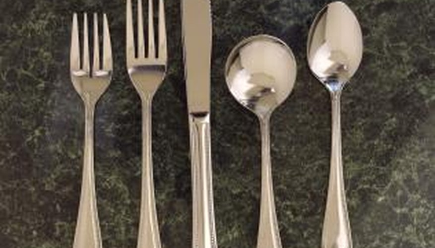 Prevention of tarnish and corrosion will keep sterling flatware and other items beautiful and useful.