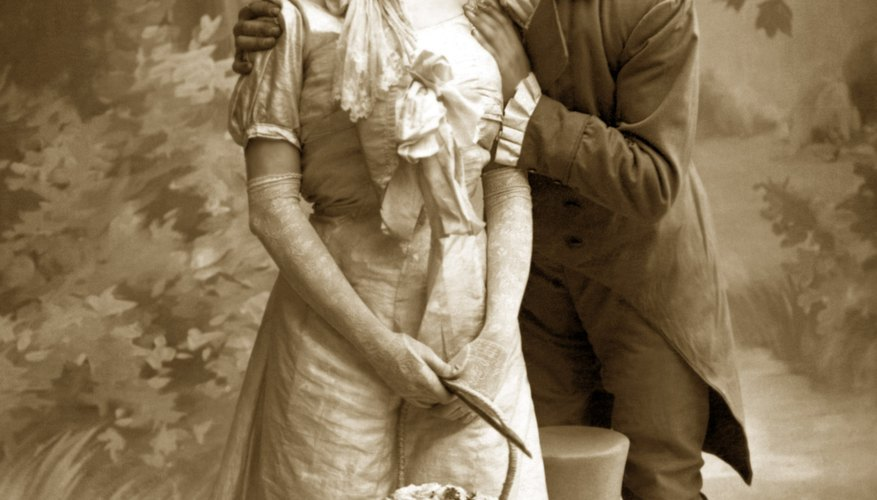 Courtship in the Victorian era was extremely structured, and the roles of men and women were rigid.