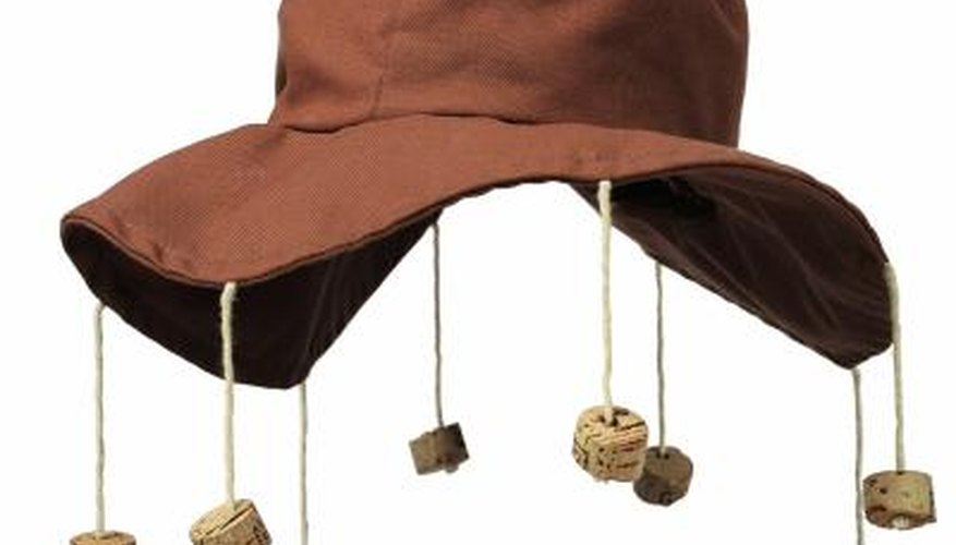 The cork hat is an internationally recognised symbol of Australia.