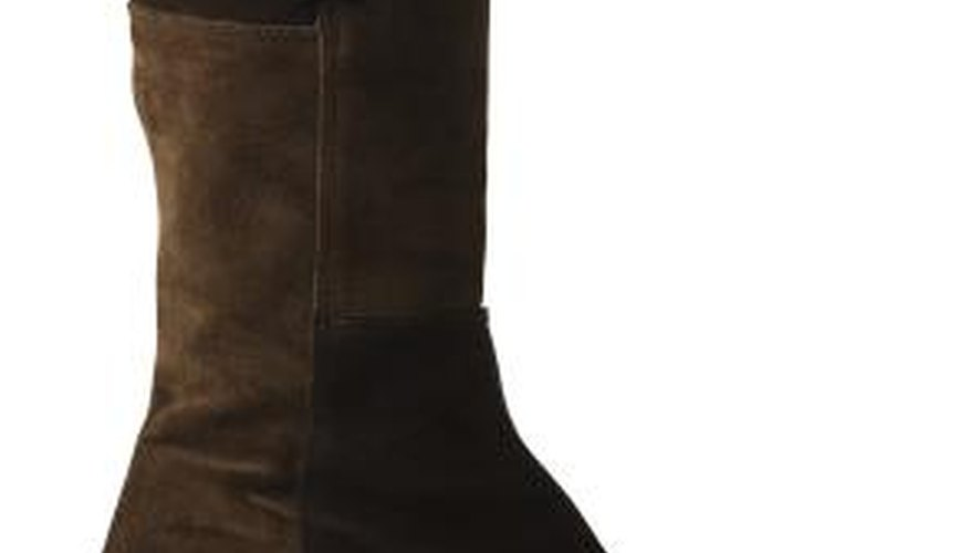 Suede boots may be tight in the toe or ankle.