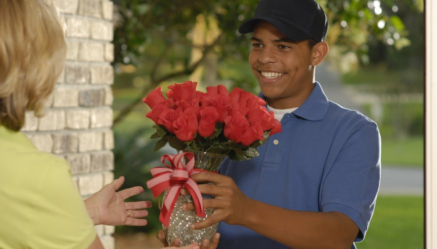 You shouldn't feel obligated to tip when you get flowers delivered.