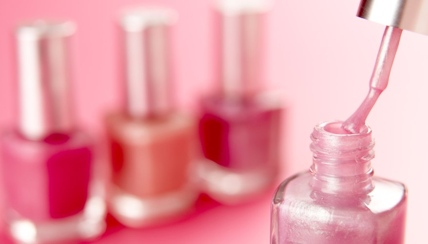 Use lighter and darker polish of any color to create a fade effect on your nails.