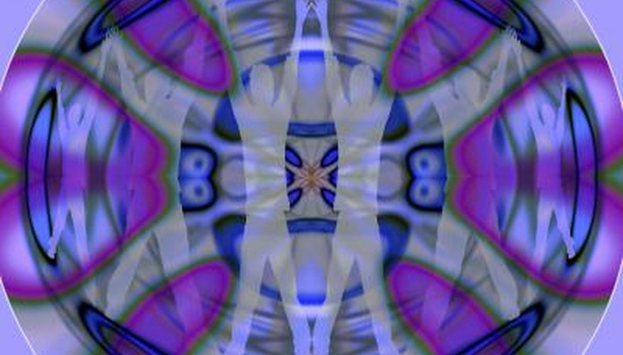 Studying existing kaleidoscope images helps in creating attractive Gimp kaleidoscopes.