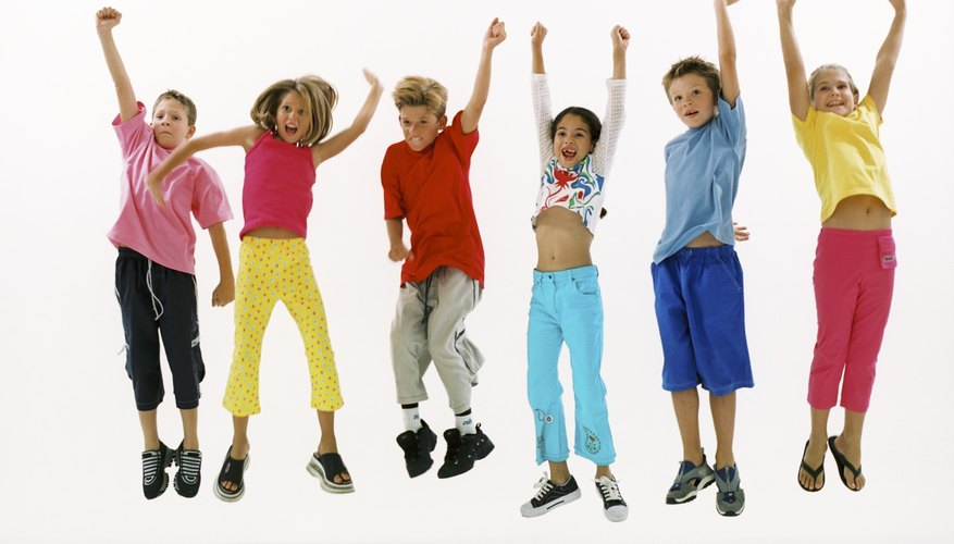 Children learn to express feelings when they dance.
