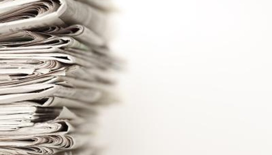 You may have to search multiple years of newspaper obituaries.