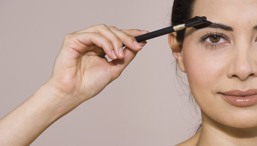 Give brown brows a boost with coffee grounds.
