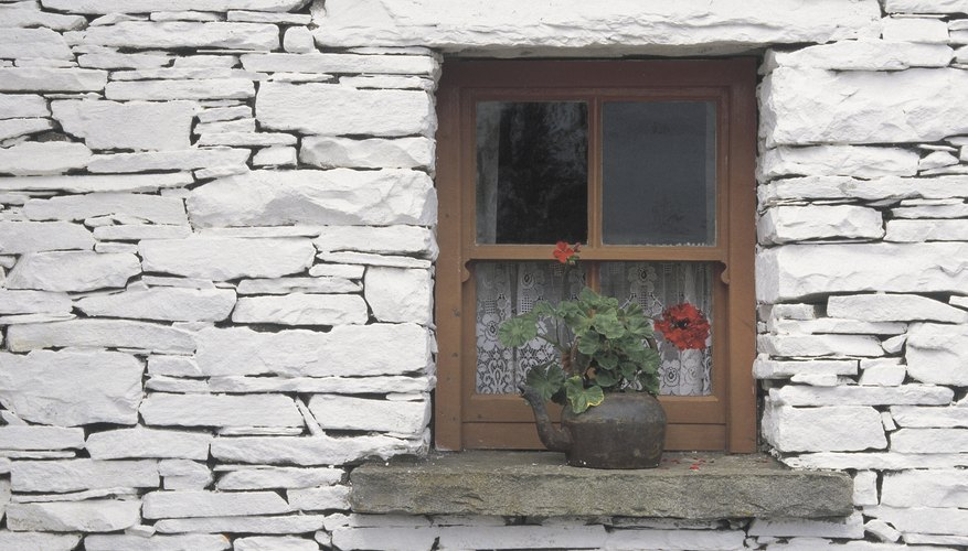 A concrete sill damaged by subsidence should be looked at by a professional.