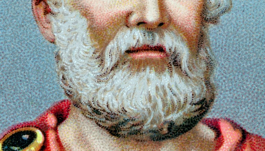 Plato sought to identify the characteristics of a good polity -- a normative approach to politics.