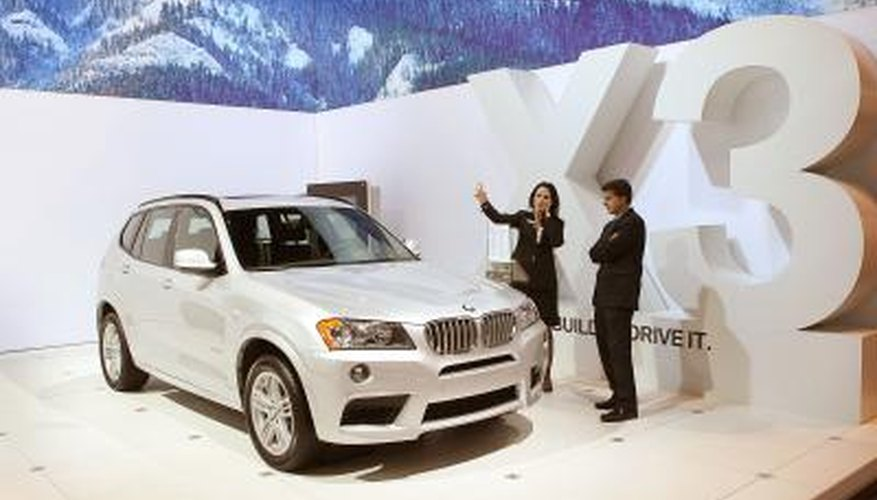 BMW offers a professional or business stereo option with different models.